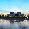 Panorama Georg-Büchner-Platz, Staatstheater Darmstadt (2014, Fotografin: Stephanie Müller, alle Rechte vorbehalten)