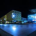 Panorama Karolinenplatz mit Darmstadtium (2014, Fotografin: Stephanie Müller, alle Rechte vorbehalten)