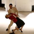 """Helen Juren et Romain Fortier - Spectacle """"Labeur au Ventre"""" de Bruno Hallauer 2016"""