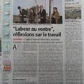 """Spectacle """"Labeur au Ventre"""" de Bruno Hallauer 2016 - Cie l'Hermine de Rien"""