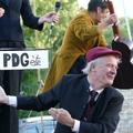 """Bruno Hallauer dans le spectacle """"Labeur au Ventre"""" 2016 - Cie l'Hermine de Rien"""