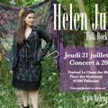 Affiche Helen Juren au Festival Le Chant des Moineaux Pontoise 21/07/2016 photo Julie Pradier