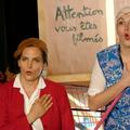 """Helen Juren et Aurore Rouvier - Spectacle """"Labeur au Ventre"""" de Bruno Hallauer 2016"""