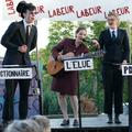 """Douglas Jay, Helen Juren et Lisa Lévèque - Spectacle """"Labeur au Ventre"""" de Bruno Hallauer 2016"""