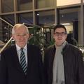 """Egon Jüttner mit Mark Perelmann beim """"MdB Abendessen"""" der BIG"""