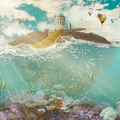 Bildinfo: Korallen: tigers_stock/Devianart, Fische: ybsilon_stock/Deviantart, Zeppelin:  jumpfer_stock/Deviantart