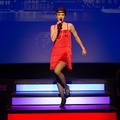 """Julia Lißel als """"Joanna"""" - Boys, Boys, Boys - DIE SCHMACHTIGALLEN LANDEN EINEN HIT - Stadttheater Gießen © Katrina Friese 2016/2017"""