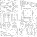 Meine SVG Zeichnung für den Engel Pavillon.
