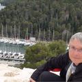 Ausblick auf den Hafen in Skradin