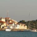 Die ARIANE im Hafen von Prvic