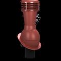 Kominek wentylacyjny nieizolowany na gont bitumiczny i blachy płaskie ∅110 czerwony 3009