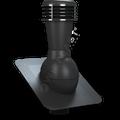 Kominek wentylacyjny nieizolowany pod gont bitumiczny ∅110 czarny 9005