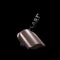 Wywietrznik połaciowy na gont bitumiczny i blachy płaskie brązowy 8017