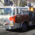 Engine 7 on Santa Run