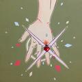 忌まわしきルビー(2015)  初出:むし展 アクリルガッシュ