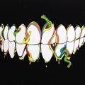 虫歯(2015)  初出:むし展 アクリルガッシュ