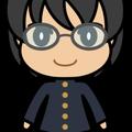男子学生(学ラン・黒髪)