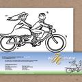 ° Markerillustration für Hochzeits-Einladung