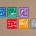 ° Icon-Entwicklung für Produktbereiche