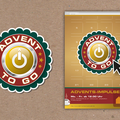 "° ""Advent to go"", Adventsaktion in Lenzkirch (Logoentwicklung / Plakat)"