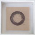 『位相#7』 / 2013 / oil on paper / 10×10 / ¥10,000