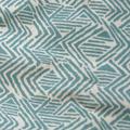 31 Muster Blau