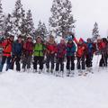山スキー集合。