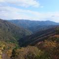 高島トレイル遠望。