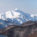 平湯温泉から笠ヶ岳。