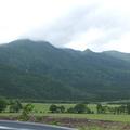 禿岳全景。