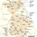 Sorbisches_Siedlungsgebiet © Wikipedia NordNordWest