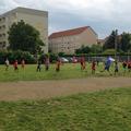 ... und Fußball unter Leitung von Herrn Mettke - Vielen Dank!