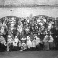 Vers 1915 - Consultation de nourrissons à la rue Sainte-Anne ?