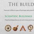 Diese Karten enthalten Symbole. Du kannst diese sammeln, um Forschungsplättchen zu erhalten (zwei gleiche Symbole) und um das Spiel mit der wissenschaftlichen Überlegenheit zu gewinnen (6 unterschiedliche Symbole)