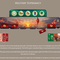 Der militärische Sieg (Militärkarten kaufen und damit den Anzeiger auf die gegnerische Seite bringen)