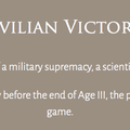 Ziviler Sieg (keine militärische oder wissenschaftliche Überlegenheit = Zusammenrechnen aller Siegpunkte in unterschiedlichen Kategorien