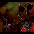 毒麦粉さんのキャラクターの、デマゴギーという悪霊をお借りしました