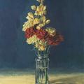 Flores,Acrílico sobre tabla- Flowers,Acrylic on panel
