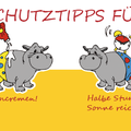 """Aufkleber """"Hautschutztipps für Kids"""", HIPPOlino"""
