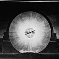 Etienne-Louis Boullee. Cenatape a Newton, 1784. Nacht.