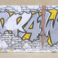 [330] RICK-DRAW RAVIOLA Graffito