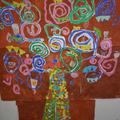 L'arbre de Gustave Klimt à l'école Saint Jean Baptiste