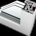 """Kunststoff-Fenster KF405 - Designlinie """"Studio"""""""