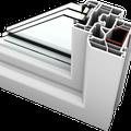 """Kunststoff-Fenster KF300 - Designlinie """"Home Soft"""""""