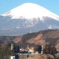 介護タクシーで富士山