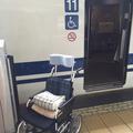 介護タクシー北斗 新幹線 多目的室送迎 車椅子