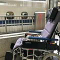 介護タクシー北斗 新幹線 多目的室送迎 リクライニング車椅子