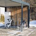 Ladeschrank mit Unterstellmöglichkeit der E-Bikes