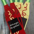 Création d'objets promotionnels pour le caviste Antoine Gérard (Boutique l'Abondance à Forcalquier)