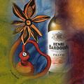 Création artistique et graphique pour le Pastis Bardouin. Distilleries et Domaines de Provence